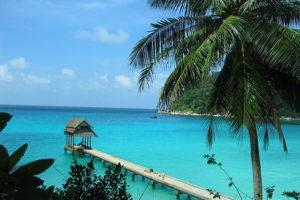 Perhentian Beach en Malaisie