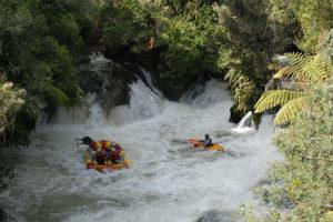 Rafting sur le Kaituna River