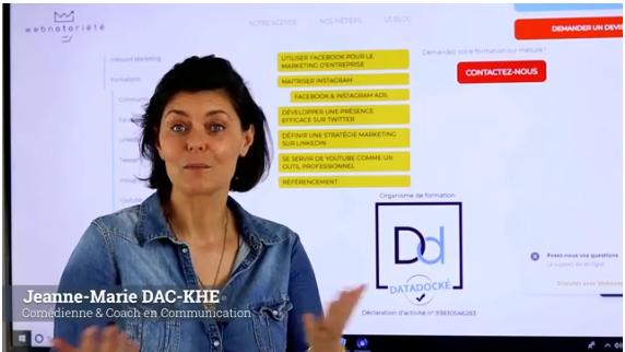 Votre formation à la prise de parole à Toulon, chez Webnotoriété