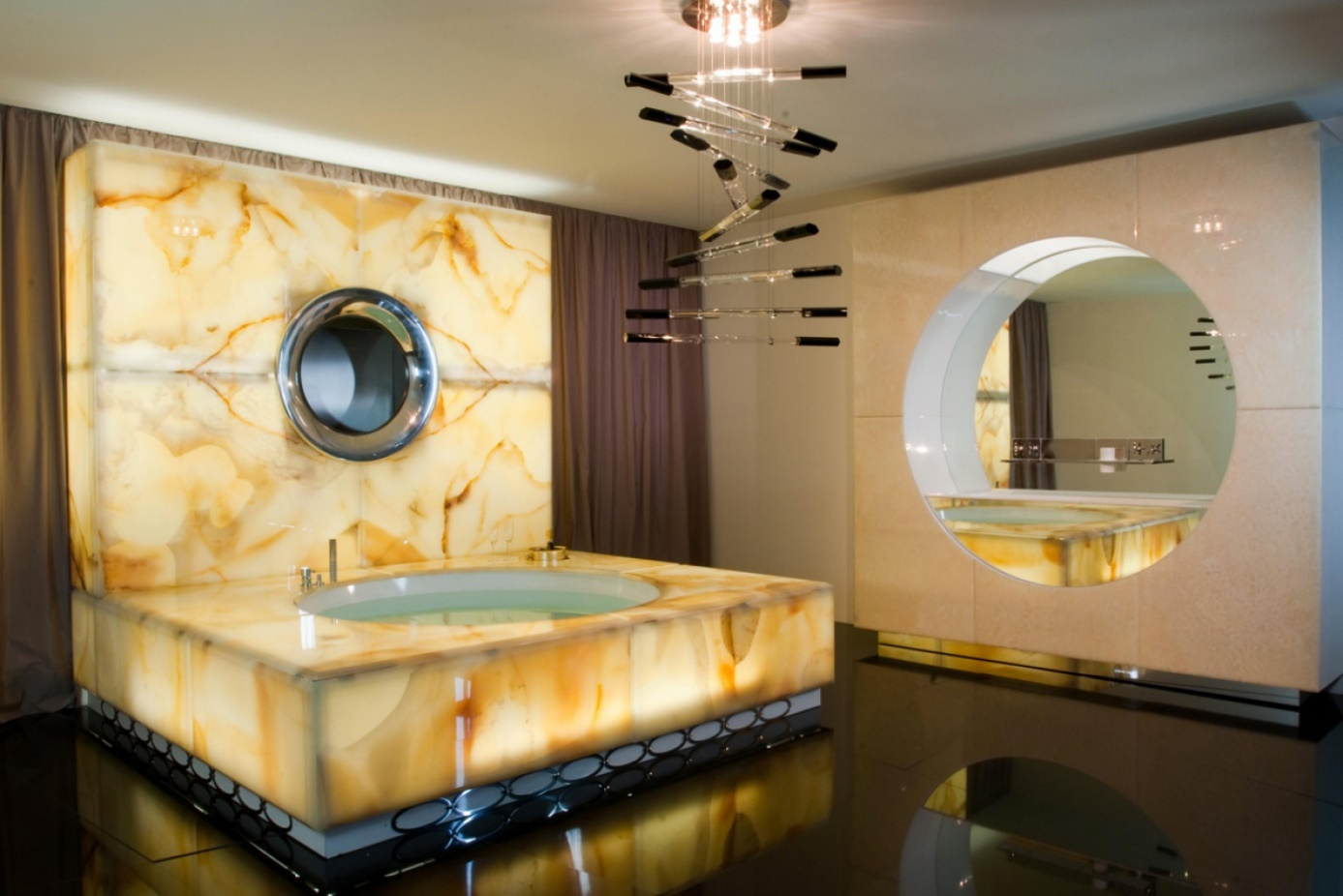 salle de bain onyx