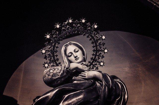 médaille de Vierge